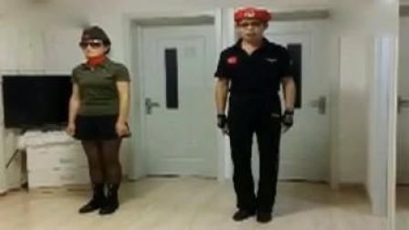 水兵舞基本步教学 水兵舞基本步教学基本步1(口令)教学
