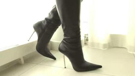 穿衣搭配, 黑色尖头高跟鞋, 让时尚多了份优雅的选择
