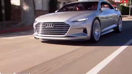 奥迪A9 宝马9系 这是要挑战迈巴赫S级的节奏 实车路试