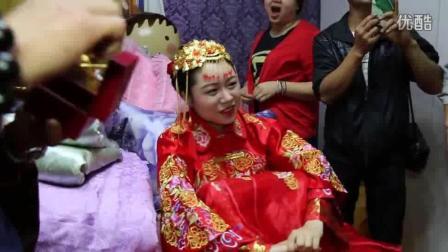 贵州贵阳云岩结婚视频: 好有气氛搞笑的结婚场面