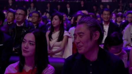 郭麒麟微博之夜在众多明星面前表演脱口秀, 台风稳健