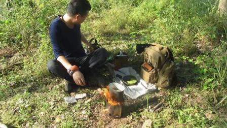 找皇帝用的火石, 找到爽歪歪的野豌豆爆炒之!