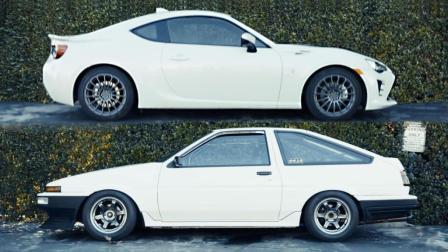 """AE86和GT86的""""跨时空对决""""对丰田86的爱是永恒的"""