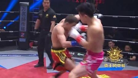 中国拳手遭遇仅输给魏锐的欧洲双料冠军的强力重拳KO