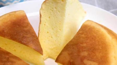 只要有电饭锅就能做的酸奶蛋糕! 软绵绵的超级好吃