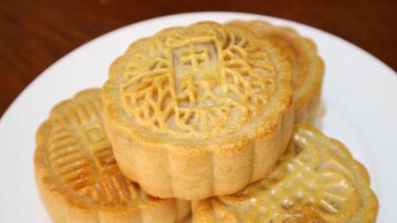 今年的中秋, 就自己做月饼吧! 双黄白莲蓉月饼