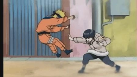 火影忍者, 这应该是雏田第一次动手打鸣人