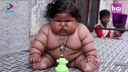世界最胖巨婴,  体重竟重达38英镑!