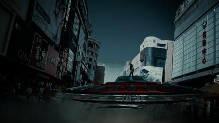 宁夏龙凌波: 某商城惊现UFO, 这位大爷看呆了, 这特效场面我打100分