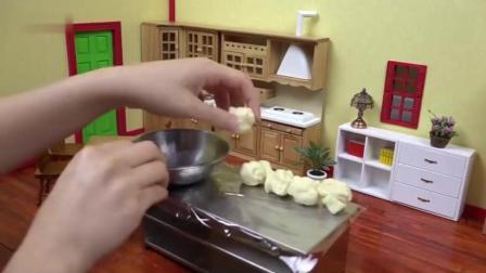 香肠面包的做法之中国美食节目