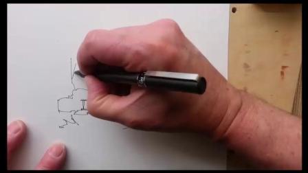 非常简单水彩画风景画教程