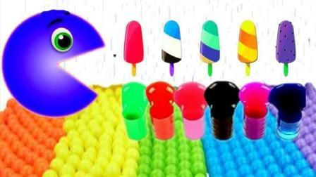 小猪佩奇彩色彩泥 汪汪队可可小爱冰淇淋玩具