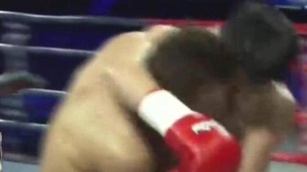 邱建良挑战韩顶级拳王, 没想到奋起打爆对手让全场沸腾