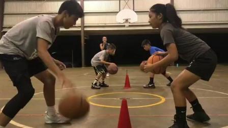 带你看看美国的青少年篮球训练营! 训练相当系统