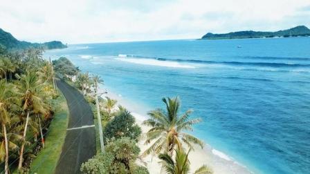 世界上最美的蓝色小岛