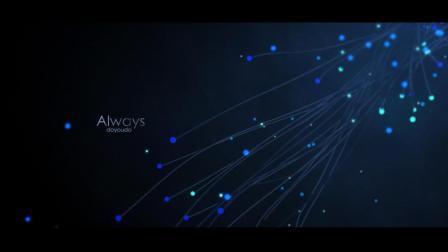 CINEMA4D 粒子制作超美流线海报