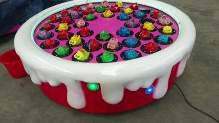 草莓蛋糕钓青蛙游戏机