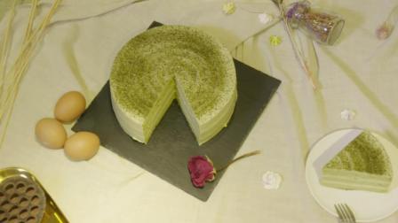 美味抹茶蛋糕制作如此简单, 原材料家中常备, 味道香甜可口