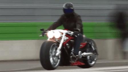 定制 增压超级哈雷戴维森 V-Rod 摩托车