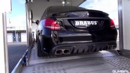 感受下650匹马力巴博斯汽车8缸引擎的怒吼
