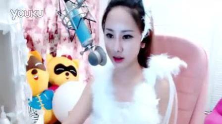 网红YY美女主播小虾米演唱刀剑如梦, dj版, 人美