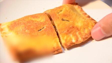 甜点制作——吐司苹果派做法