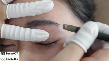 韩式半永久纹绣线条眉真人培训哪里好-本色纹绣一对一教学