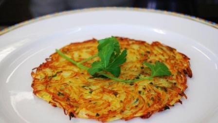 """轻松早餐""""土豆饼"""", 制作简单, 美味营养, 更配豆浆牛奶"""