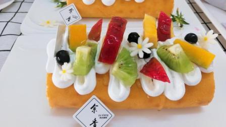 蛋糕培训-余香西点培训学校: 浮云蛋糕卷颜值和味道好不好一看就知道