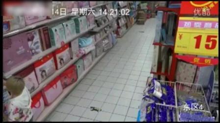 商场监控拍下了灵异的一幕, 科学无法解释!