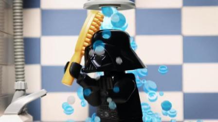 乐高星球大战定格动画: 黑武士快乐的一天