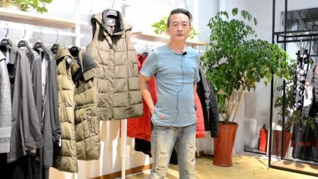 杭州品牌女装折扣批发 漠希摩时尚轻薄羽绒服尾货库存分份