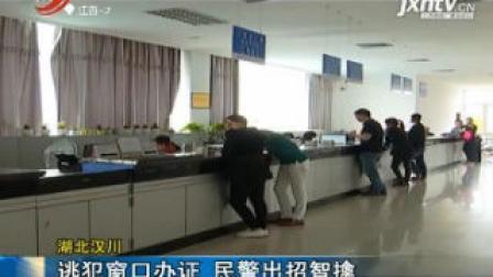 湖北汉川: 逃犯窗口办证 民警出招智擒