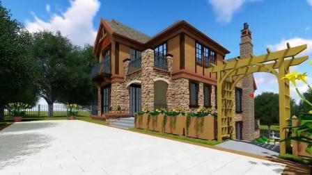 乡村两层别墅设计, 带你感受不一样的美