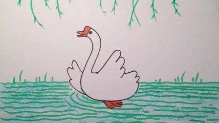 二年级美术上册第11课儿歌变画鹅鹅鹅微课2
