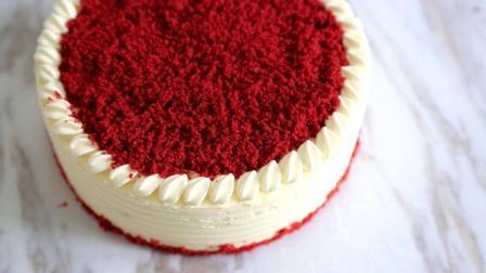红丝绒用了色素就是骗人? 学会就可以做原色丝绒蛋糕