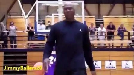 乔丹和科比球迷街头篮球单挑, 51的岁他把球迷虐到怀疑人生