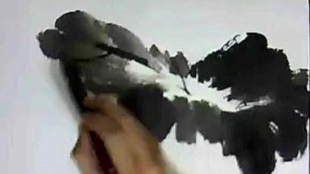 中国画艺术——写意荷花画法   01