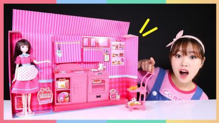 可儿米妮时尚厨房过家家游戏 316
