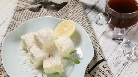 只用牛奶就能做出如此浪漫的美食, 调情必会, 椰蓉奶冻