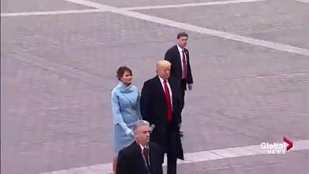 奥巴马最后一次坐空军一号, 场面很感人