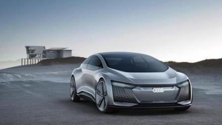 奥迪Aicon无人驾驶概念车发布, 未来不需要老司机了