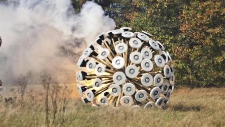 世界上地雷最多的国家, 靠这个巨大的蒲公英排雷!