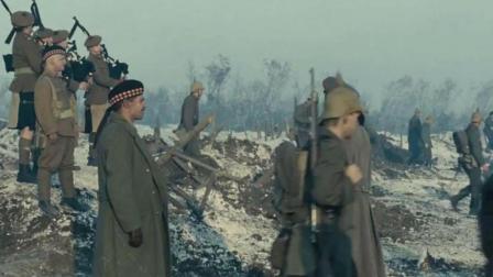 《圣诞快乐》还是英国兵绅士一些, 对敌方鸣笛欢送, 依依不舍