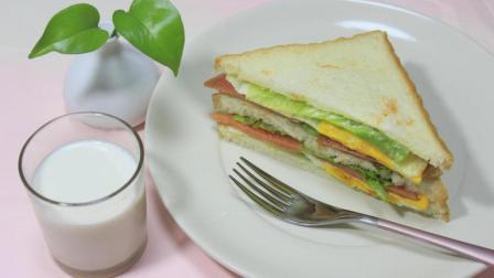 三明治的家常做法, 美味又健康, 告别外卖从此开始