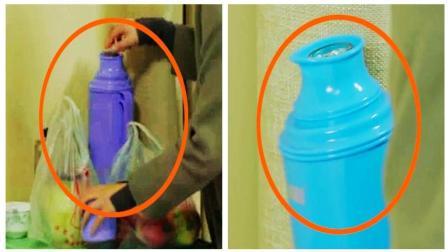 《春风十里》穿帮镜头: 赵英男使用的热水瓶会瞬间变色