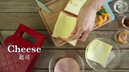 快速料理 枫糖火腿三明治做法