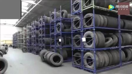 汽车轮胎是怎么样制造出来的? 你绝对想不到轮胎花纹是这样制作的