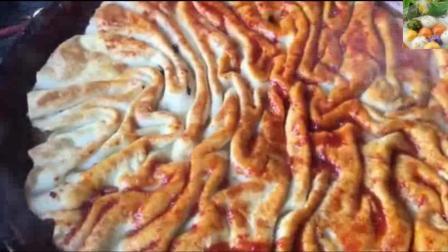 土家酱香饼这样做, 好看又好吃, 比披萨好吃多了