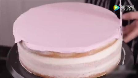 做一个韩式漂亮裱花生日蛋糕, 只要简单的几步哦